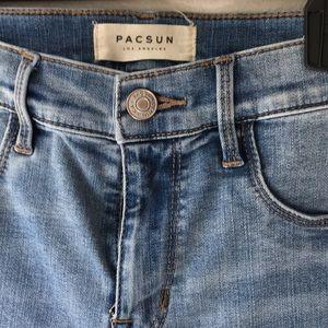 PacSun Los Angeles Jeggins sz27 worn once